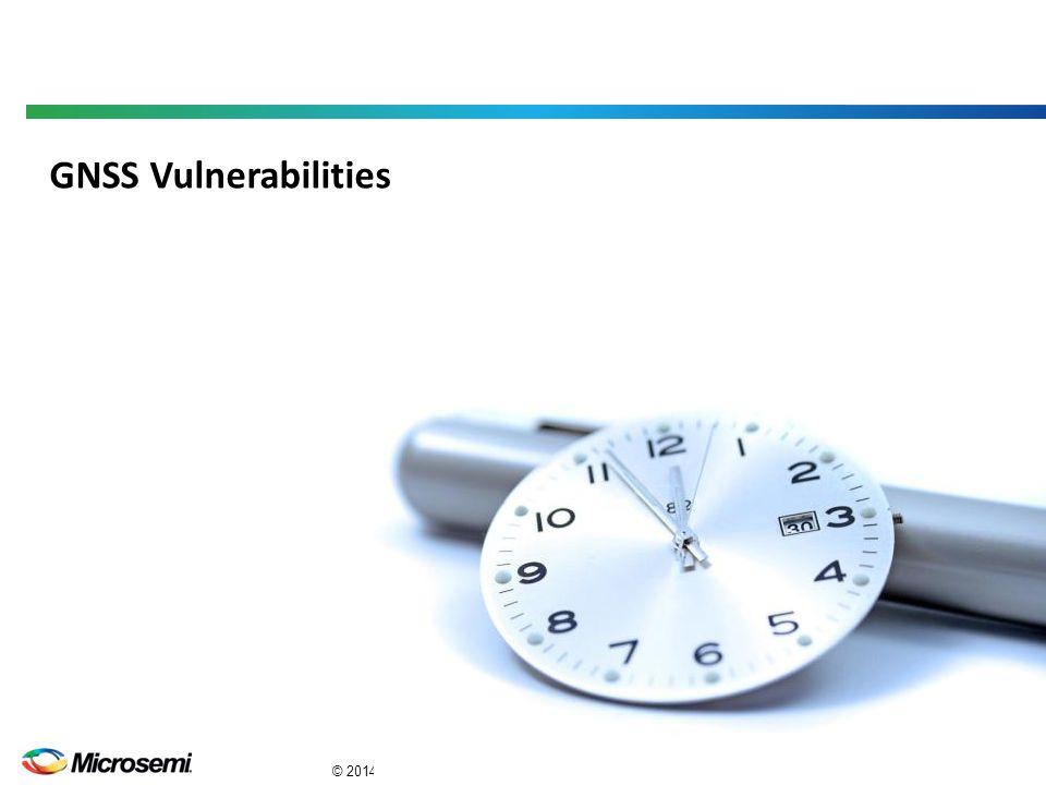GNSS Vulnerabilities