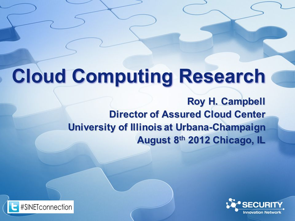 Cloud Computing Research