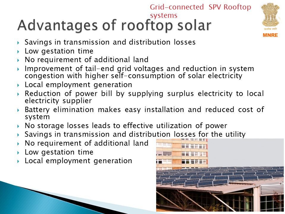 Solar Energy And Pv Rooftop In India Ppt Video Online
