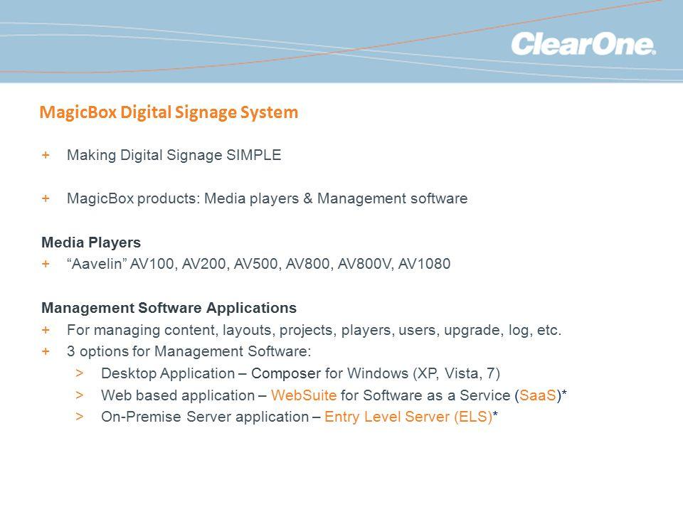 MagicBox Digital Signage System