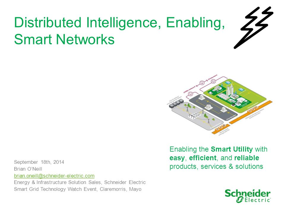 Distributed Intelligence, Enabling, Smart Networks