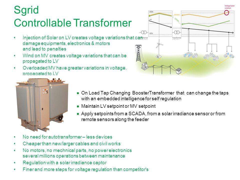 Sgrid Controllable Transformer