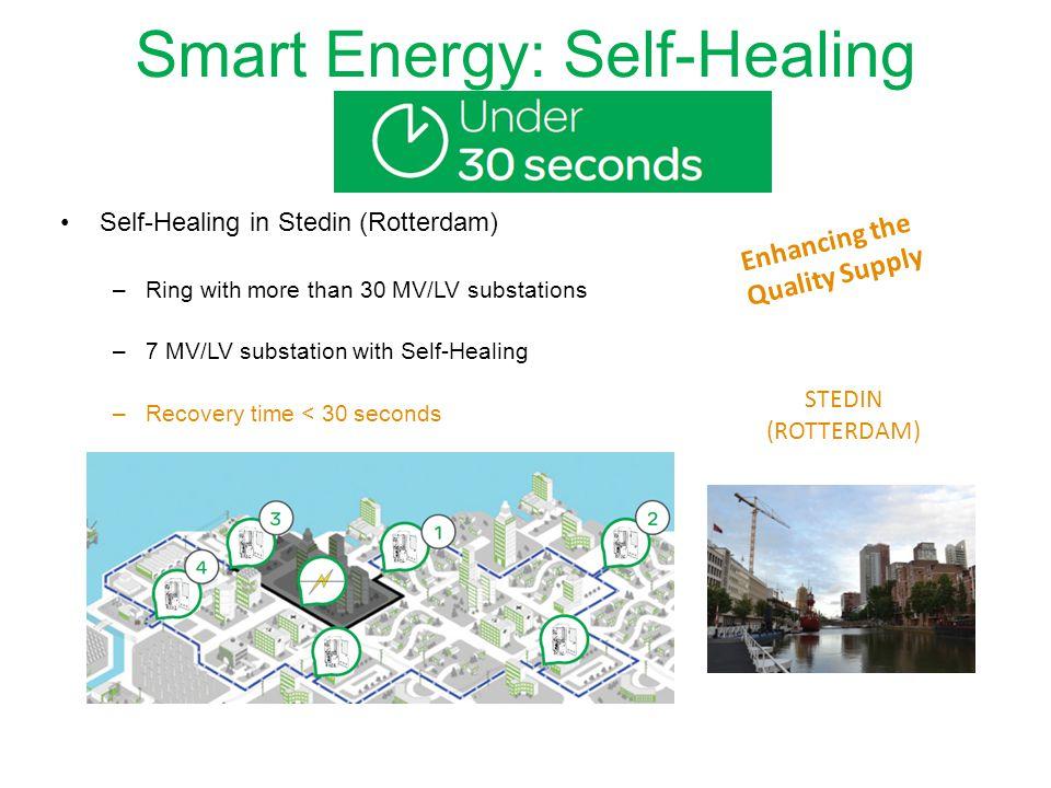 Smart Energy: Self-Healing