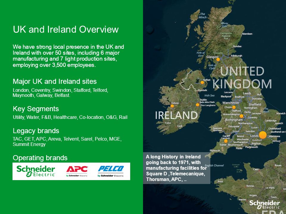 UK and Ireland Overview