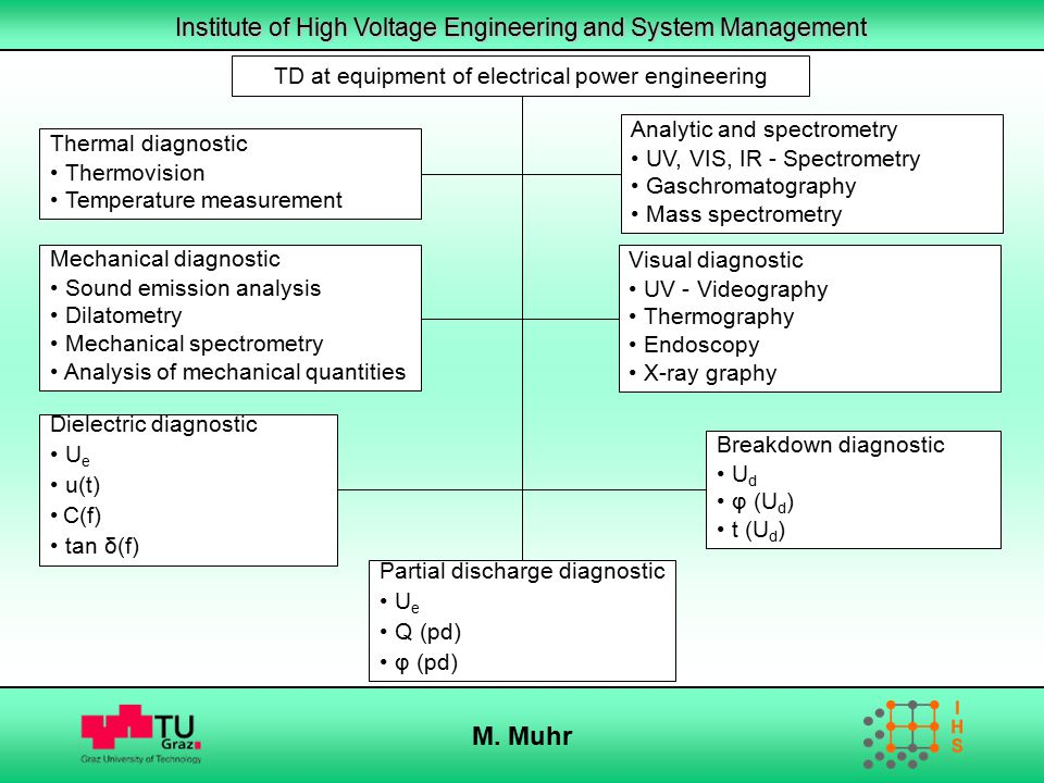M. Muhr TD at equipment of electrical power engineering