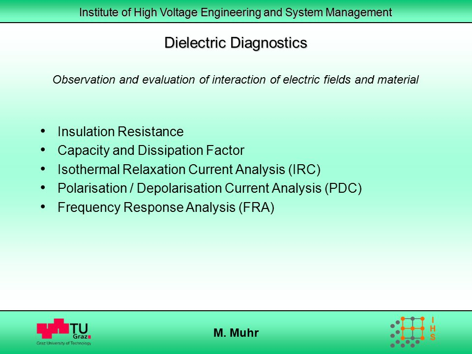 Dielectric Diagnostics