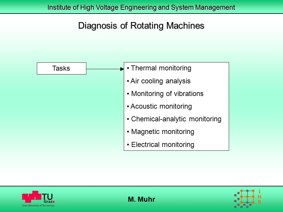 Diagnosis of Rotating Machines