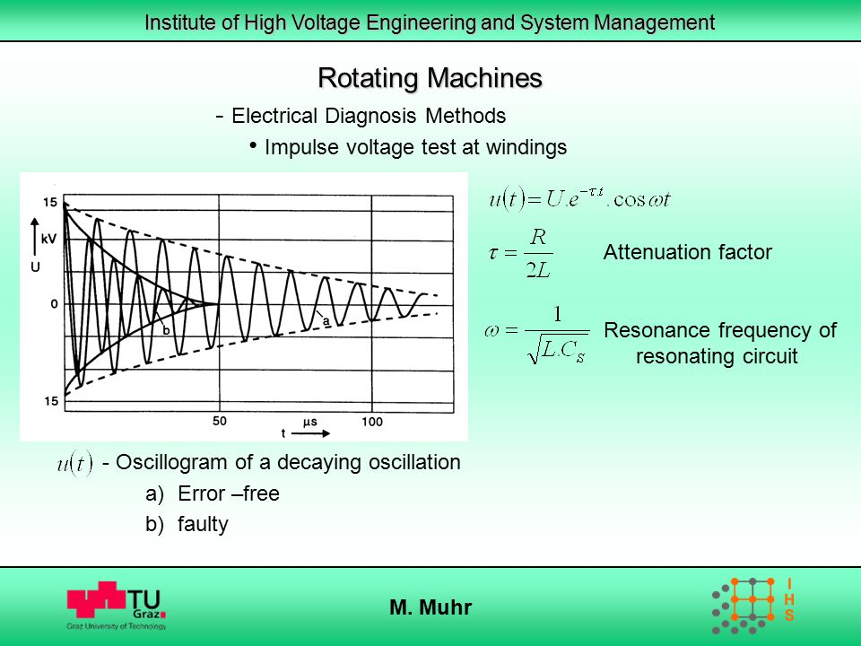 Rotating Machines Electrical Diagnosis Methods