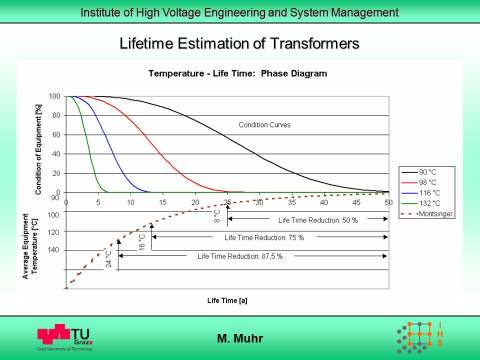 Lifetime Estimation of Transformers