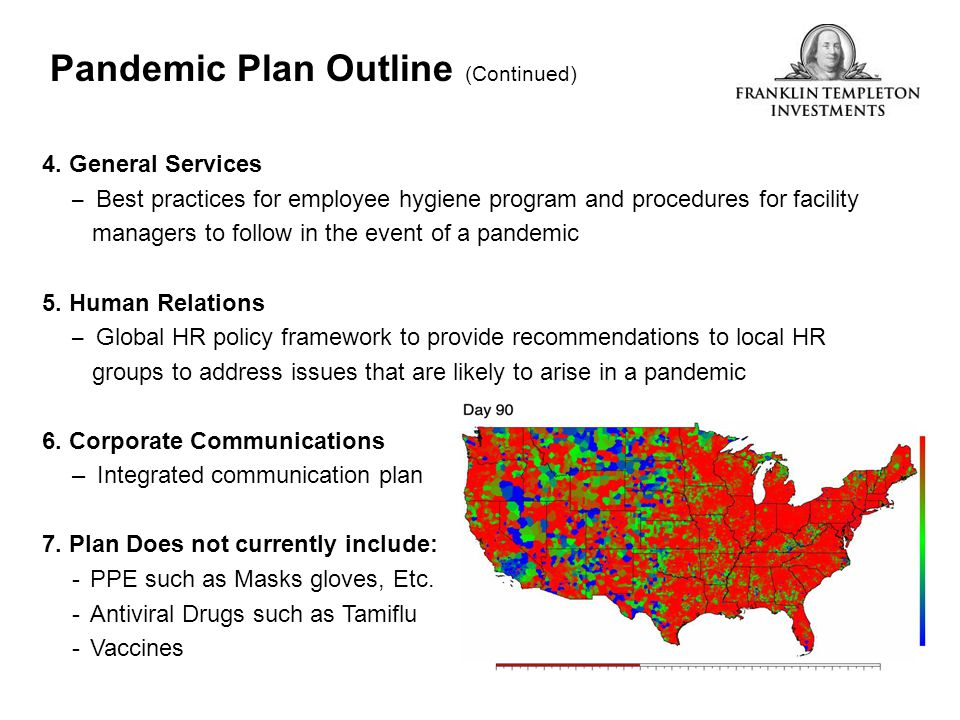 Pandemic Plan Outline (Continued)