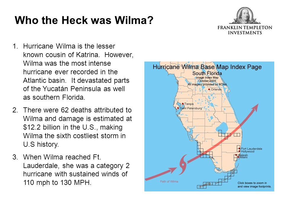 Who the Heck was Wilma