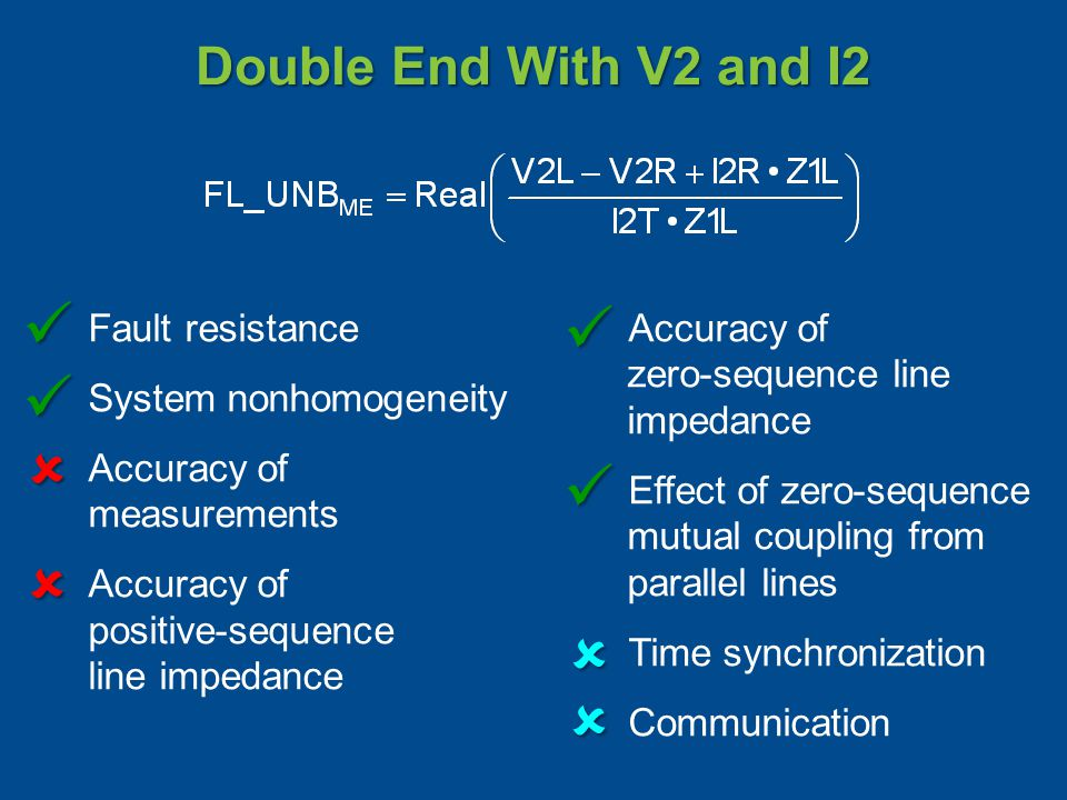         Double End With V2 and I2