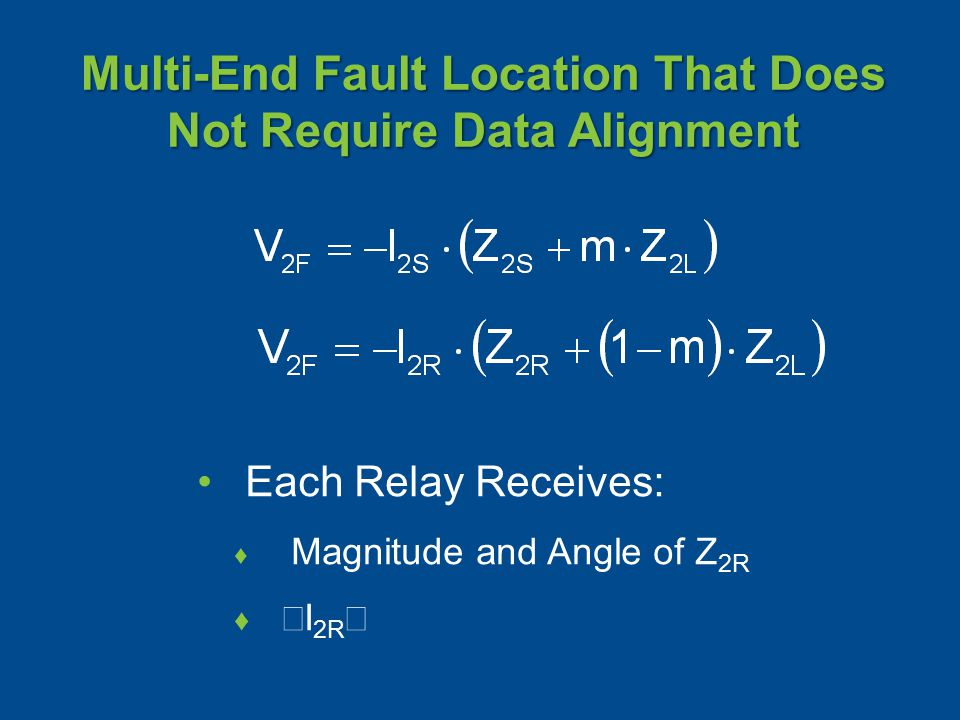 Multi-End Fault Location That Does Not Require Data Alignment