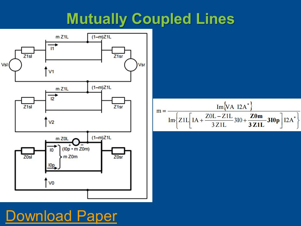 Mutually Coupled Lines