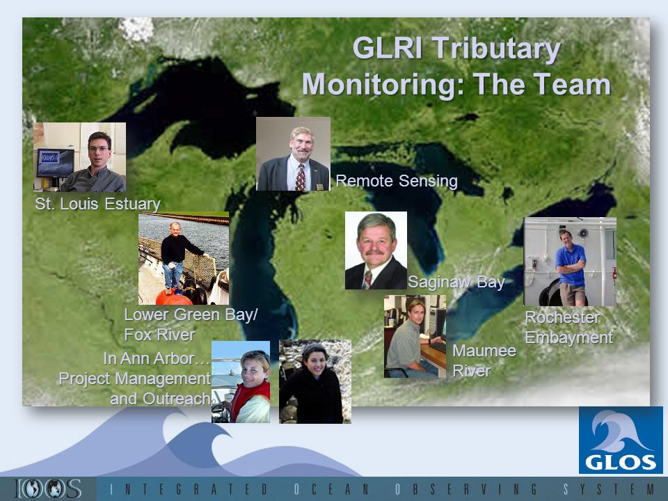 GLRI Tributary Monitoring: The Team