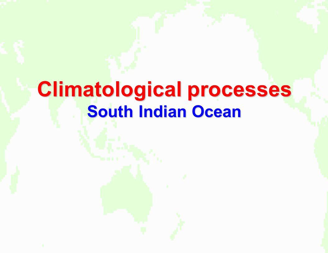 Climatological processes