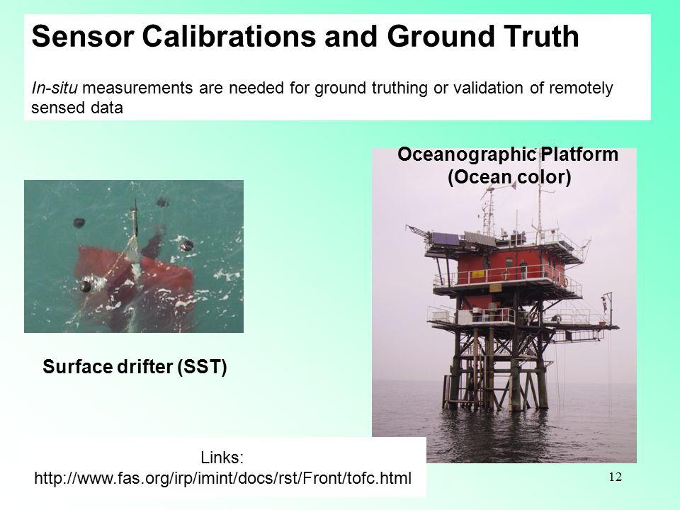 Oceanographic Platform