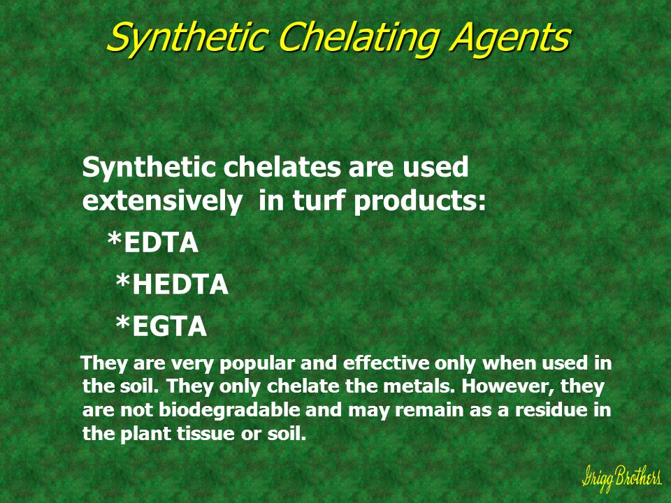 Synthetic Chelating Agents