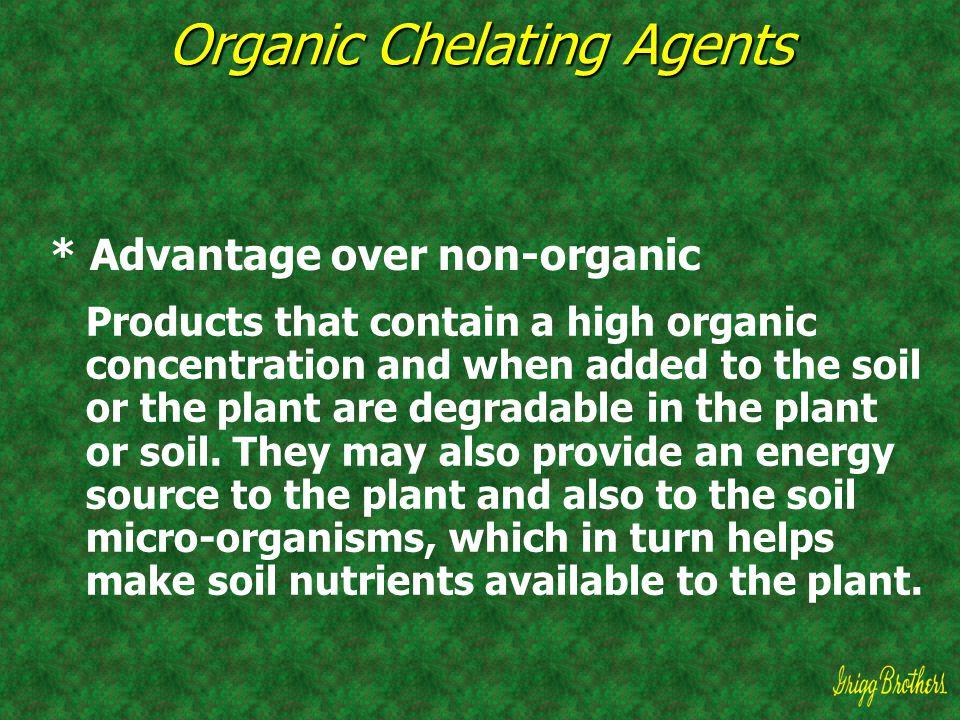 Organic Chelating Agents