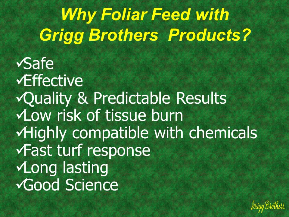 Grigg Brothers Products