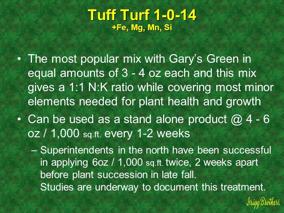 Tuff Turf 1-0-14 +Fe, Mg, Mn, Si