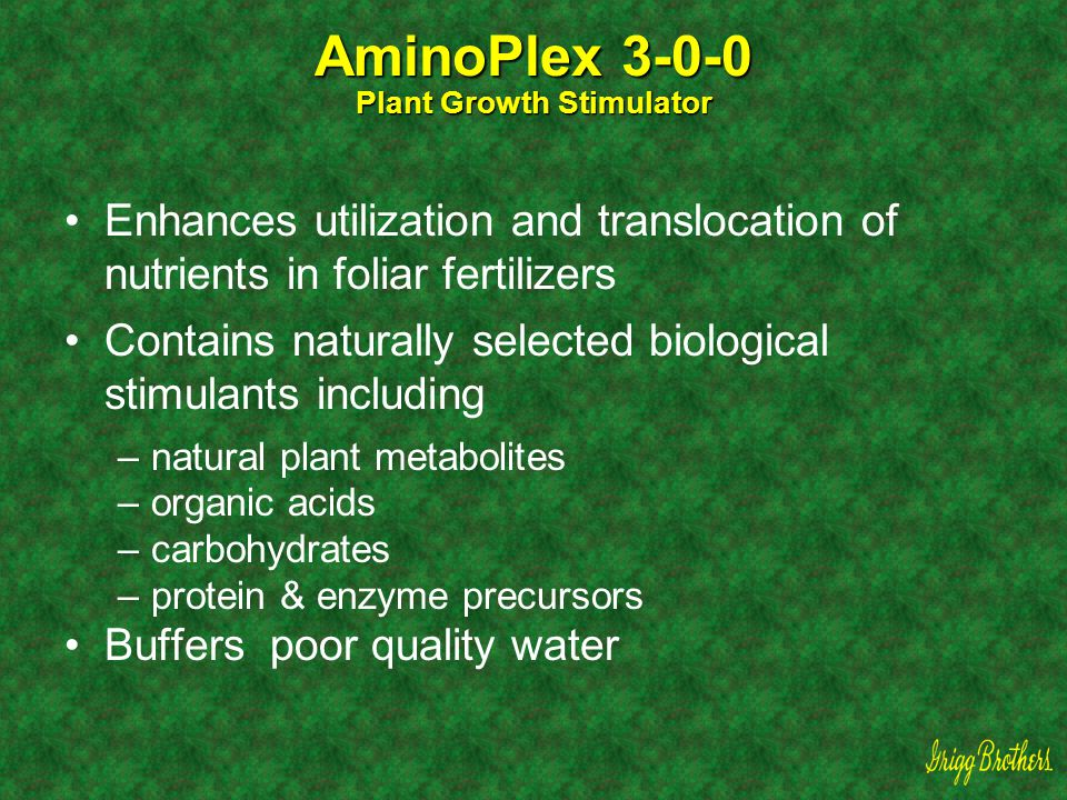 AminoPlex 3-0-0 Plant Growth Stimulator