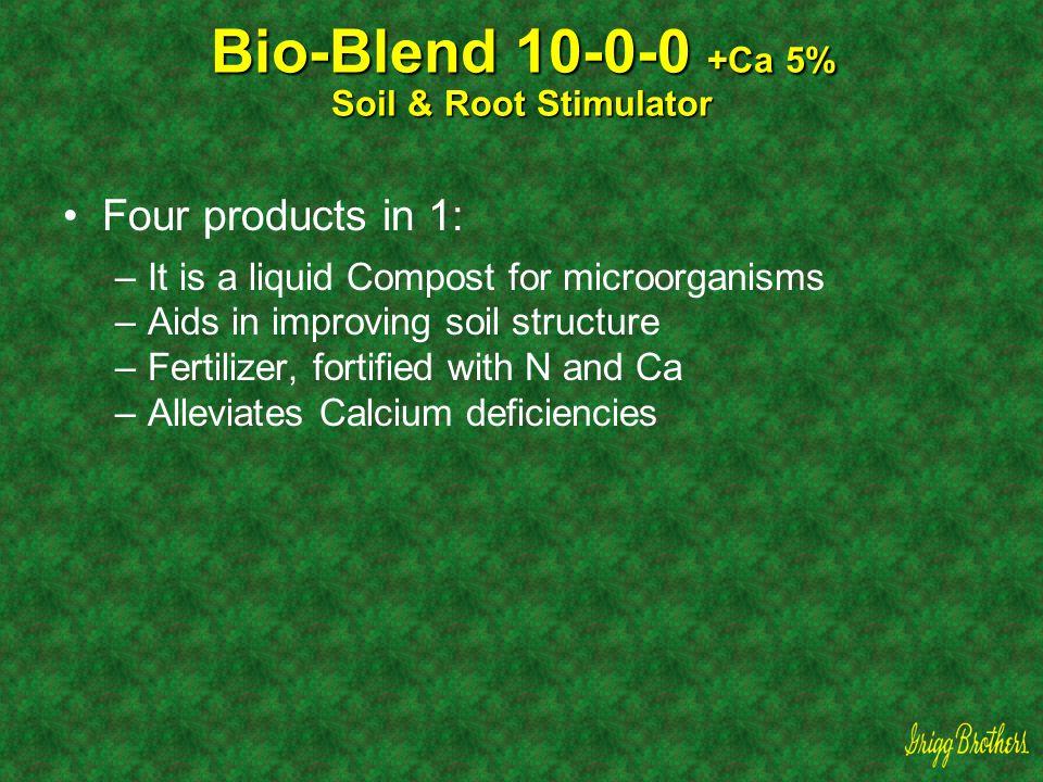 Bio-Blend 10-0-0 +Ca 5% Soil & Root Stimulator