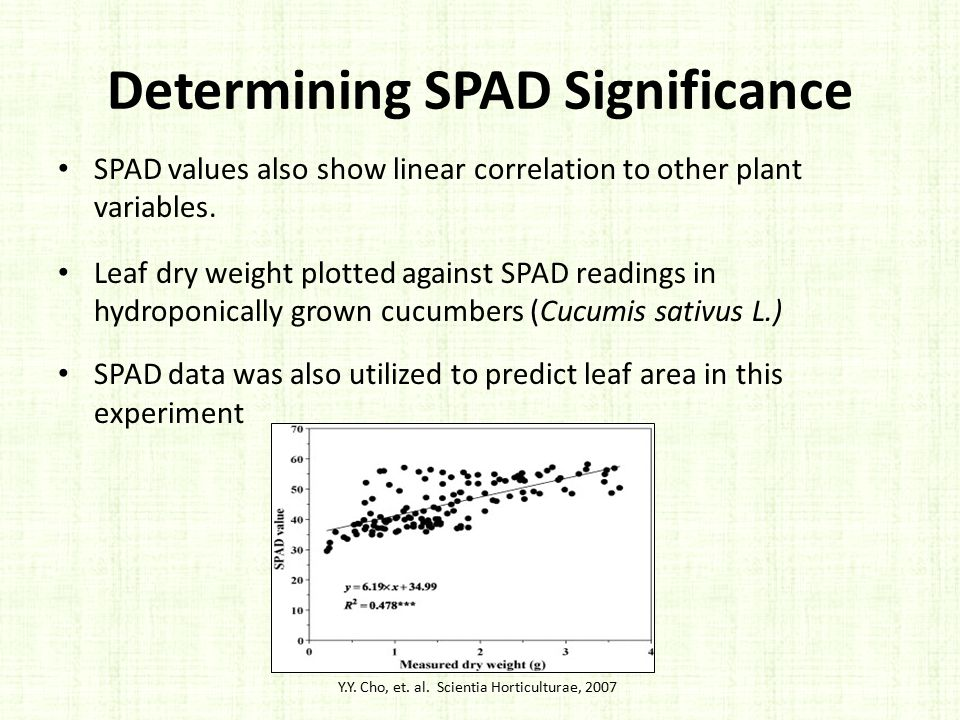 Determining SPAD Significance
