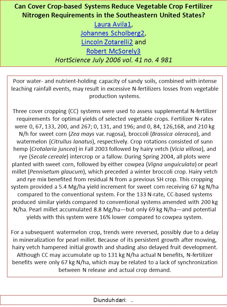 HortScience July 2006 vol. 41 no. 4 981