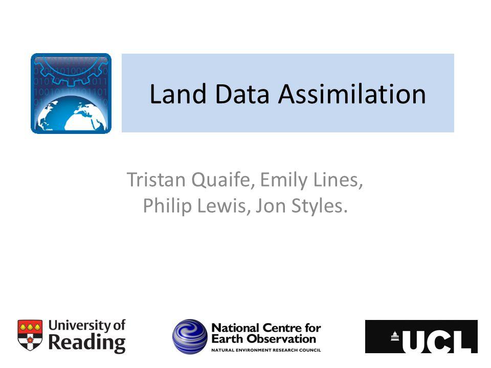 Land Data Assimilation