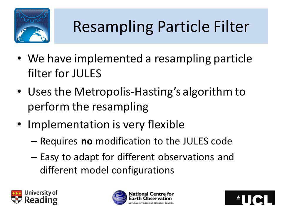 Resampling Particle Filter