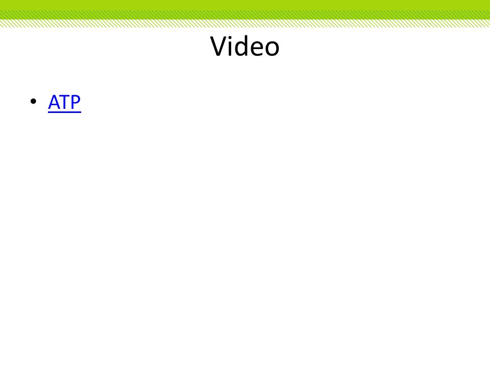 Video ATP