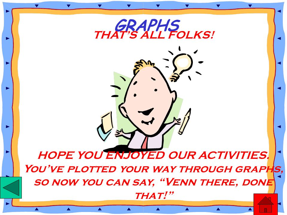 GRAPHS THAT'S ALL FOLKS!