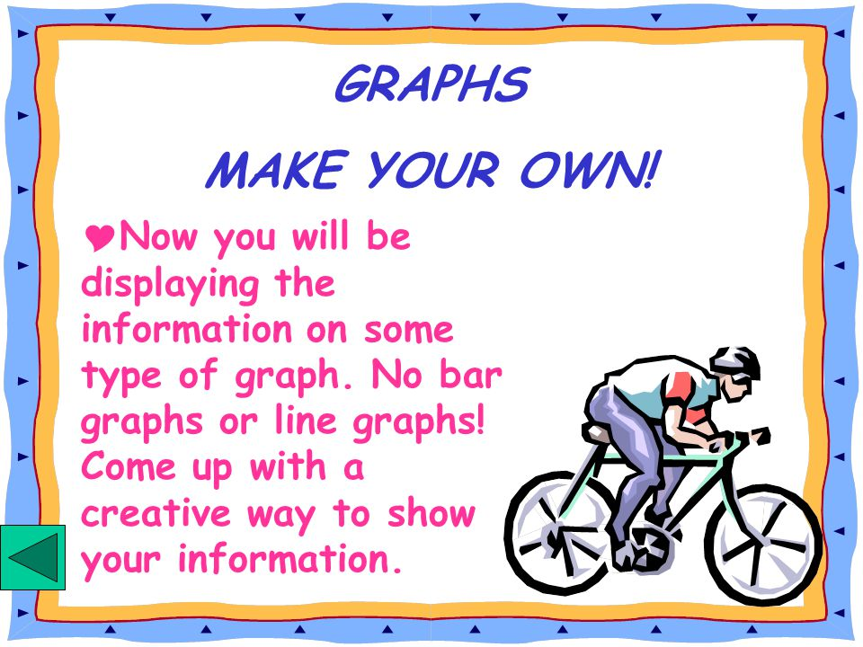 GRAPHS MAKE YOUR OWN!