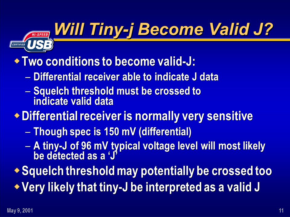 Will Tiny-j Become Valid J