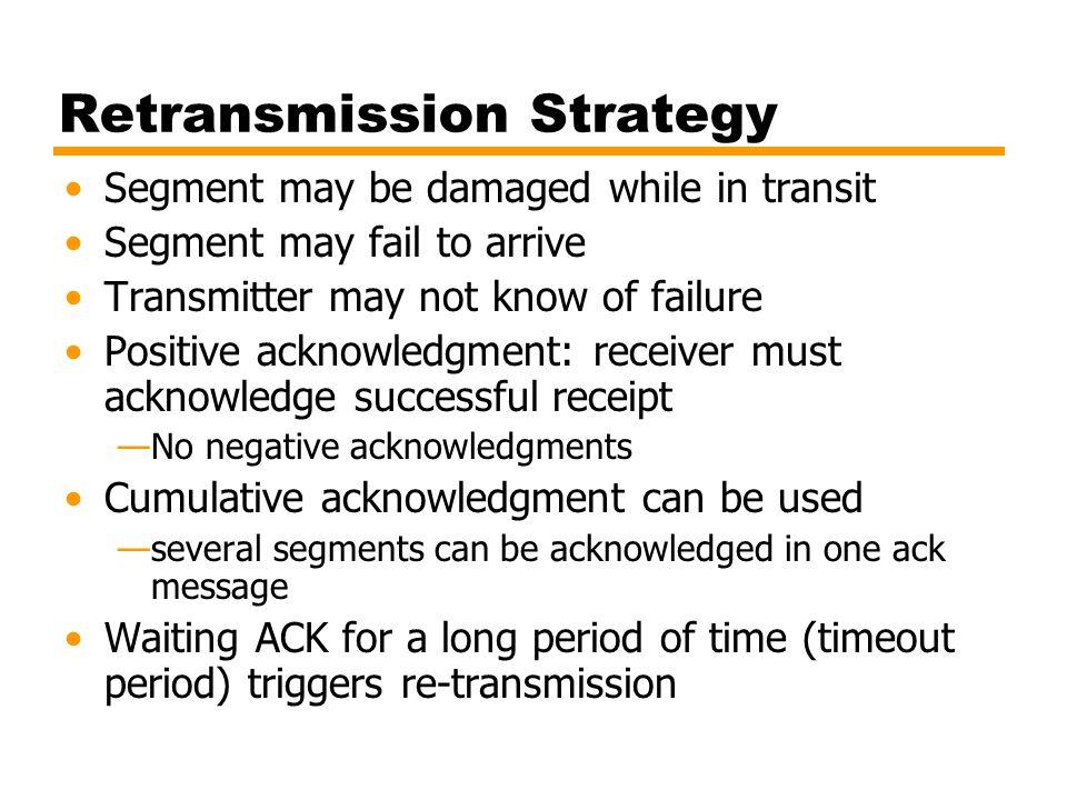 Retransmission Strategy