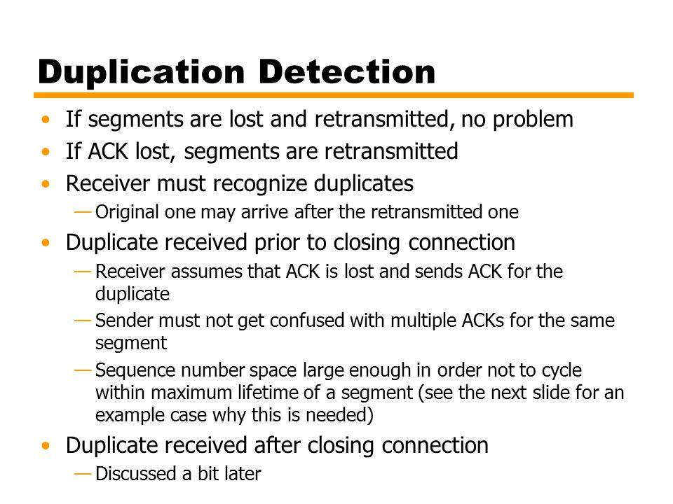 Duplication Detection
