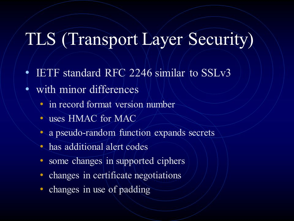 TLS (Transport Layer Security)