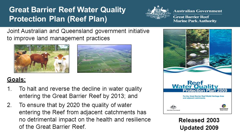 Great Barrier Reef Water Quality Protection Plan (Reef Plan)