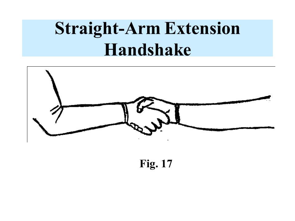 Straight-Arm Extension Handshake