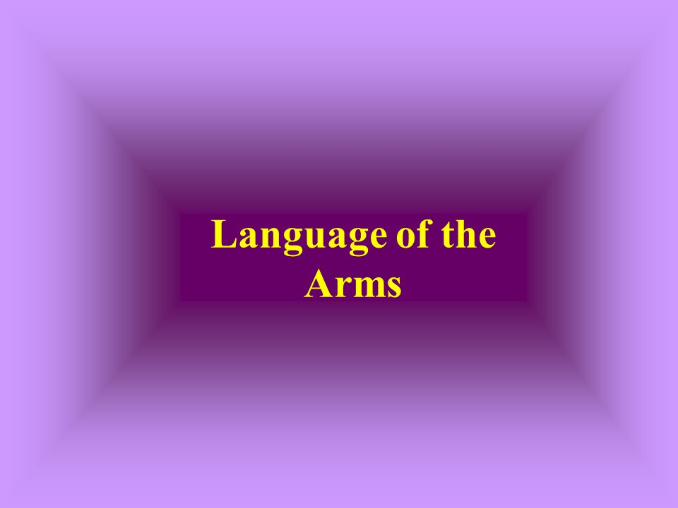 Language of the Arms
