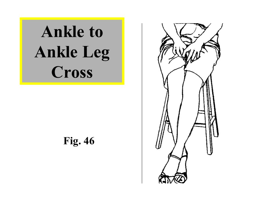 Ankle to Ankle Leg Cross