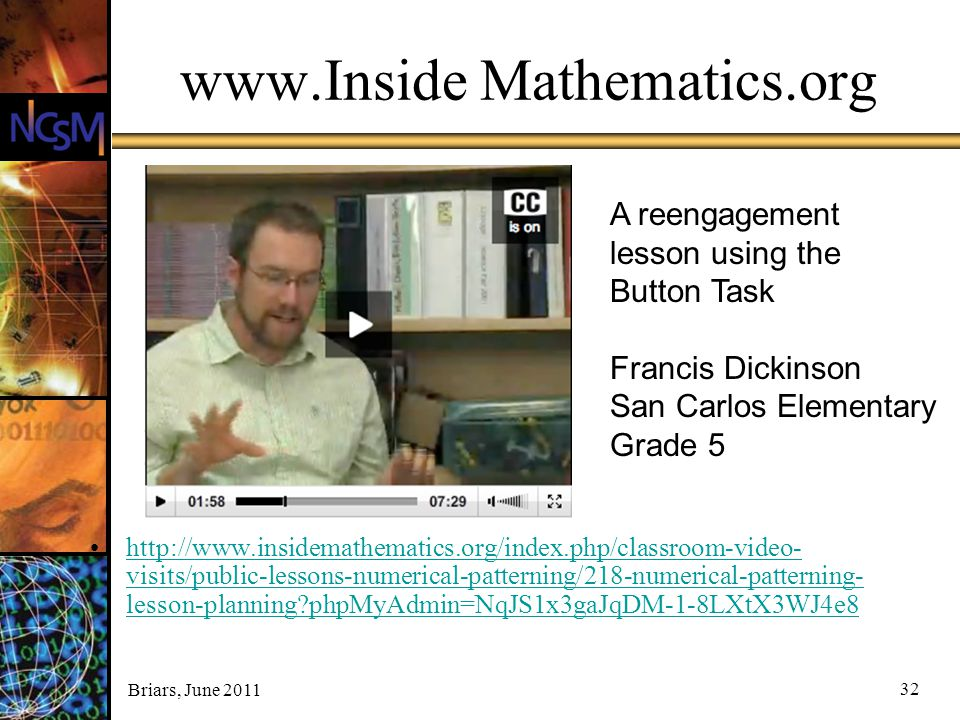 www.Inside Mathematics.org