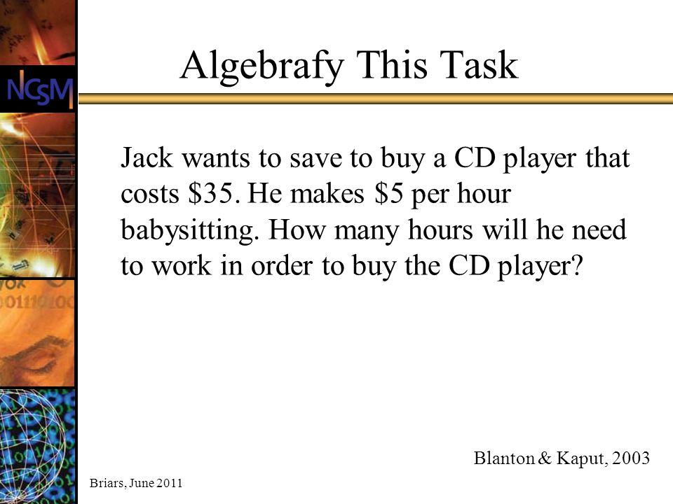 Algebrafy This Task