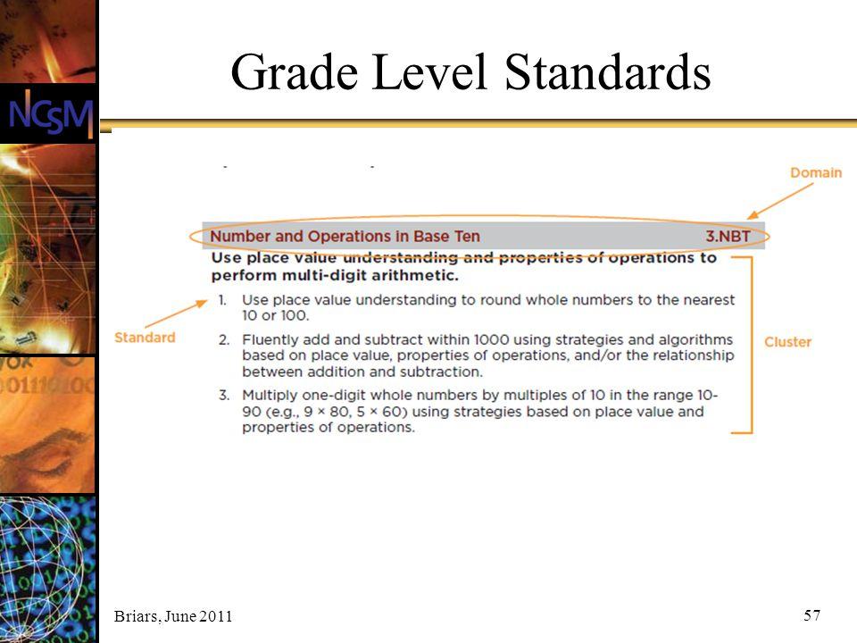 Grade Level Standards