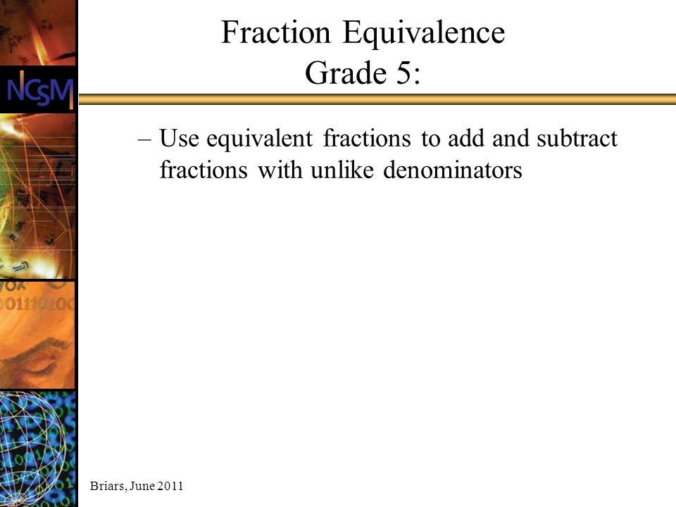 Fraction Equivalence Grade 5: