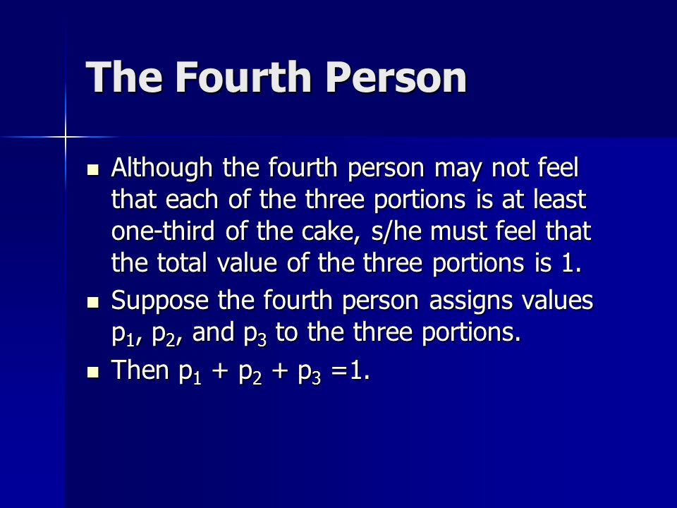 The Fourth Person