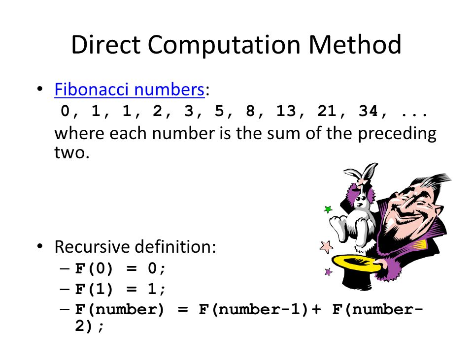 Direct Computation Method