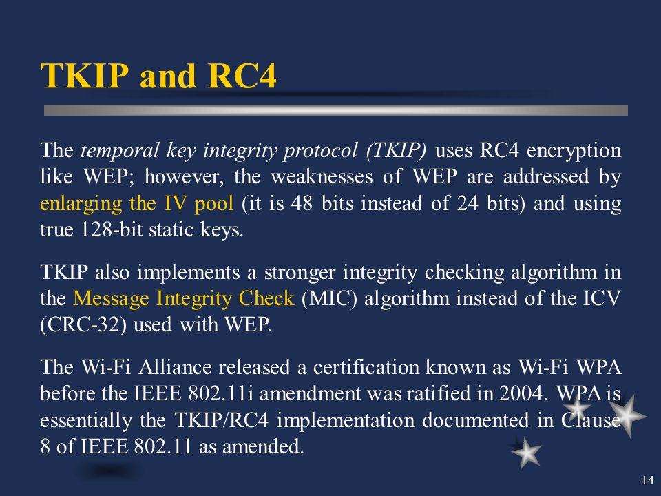TKIP and RC4