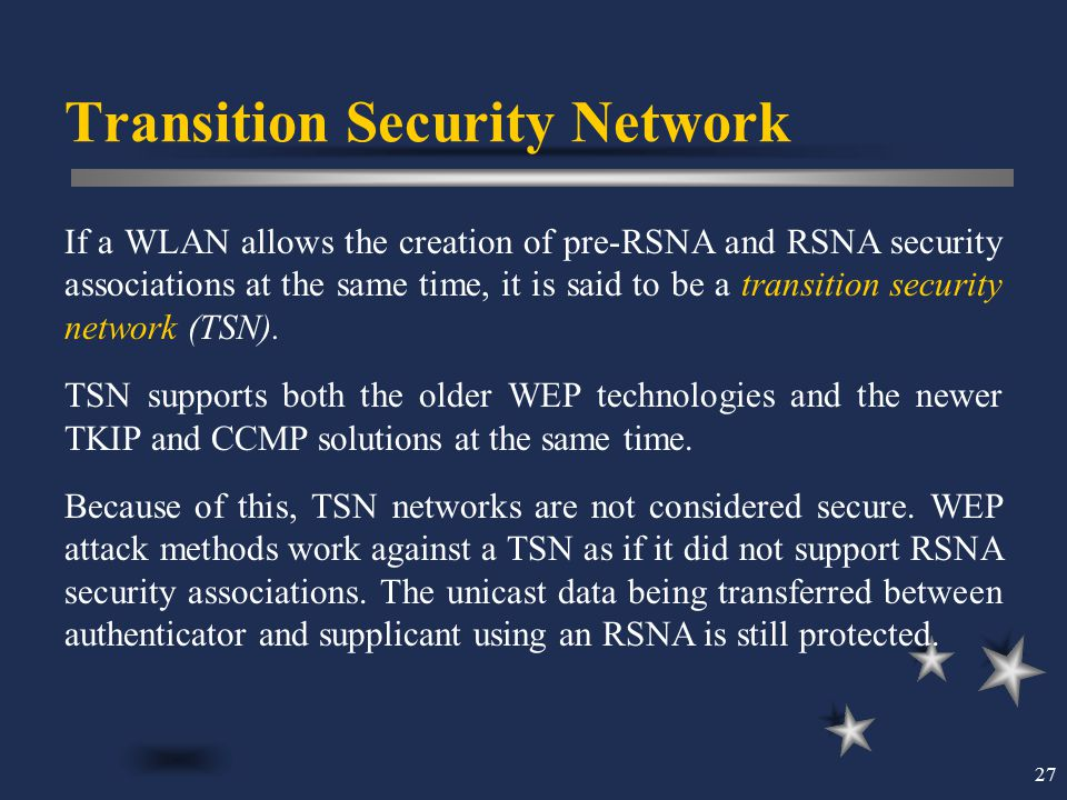 Transition Security Network